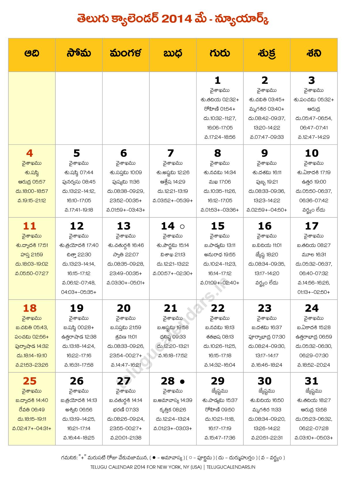 May Calendar New York : Telugu calendar new york may pdf calendars